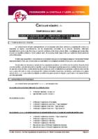 FCYLF – CIRCULAR Nº 1   2021/22 – PLAN COMPETICIONAL FUTBOL 2021-2022